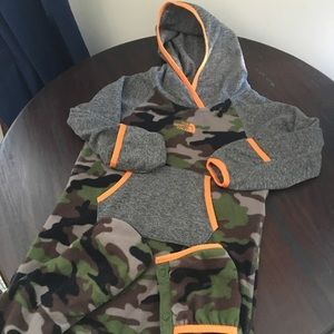 North Face Fleece Bunting 18-24 Months